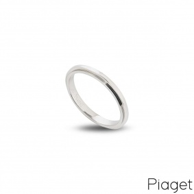 Piaget 18k White Gold Possession Ring B&P G34PR300